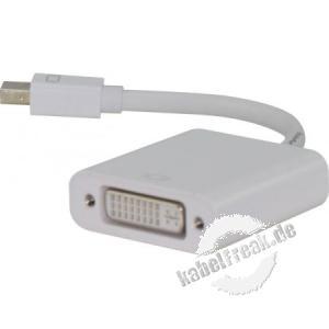 Mini DisplayPort zu DVI-D Konverter, aktiv, 0,1 m