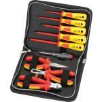 VDE-Werkzeugset, 9-teilig Etui mit 9 Werkzeugen für die Elektroinstallation