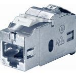 Bachmann Facility System Modul BTR E-DAT RJ45 Cat6, Buchse / Buchse Keystone passend zu allen Modulträgern