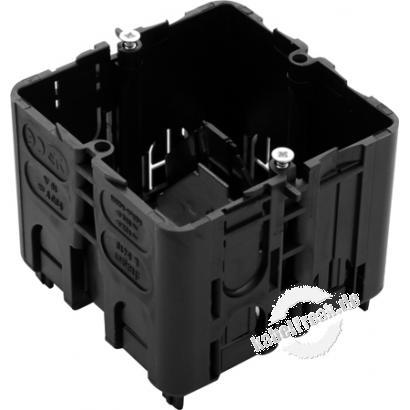 Hager Geräteeinbaudose für Brüstungskanal tehalit.BRN geschlossen, GLS5510