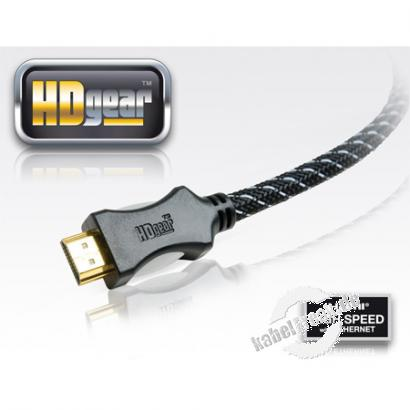 PureLink HD Gear HDMI High Speed Kabel, 4K, HDMI St. A/ HDMI St. A, 1,5 m Hochwertiges Anschlusskabel zur Übertragung von digitalen Monitor- und TV-Signalen