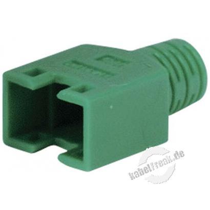 Hirose Knickschutztülle für Modularstecker TM11, grün Verhindert Beschädigungen am Stecker