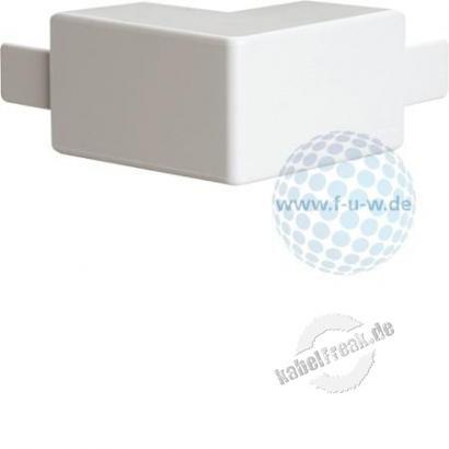 Hager Außeneck für Leitungsführungskanal tehalit.LF 40 x 40 mm, reinweiß RAL 9010, M58029010