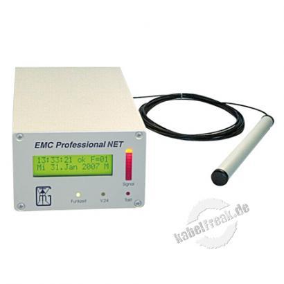 Gude EMC Professional 3001, Desktop Der Zeitserver mit integrierter Funkuhr und externer Antenne für Industrieumgebungen