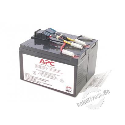 APC Replacement Battery Cartridge #48 / Ersatzbatterie (RBC48) Wartungsfreie, versiegelte Bleibatterie mit suspendiertem Elektrolyt, auslaufsicher