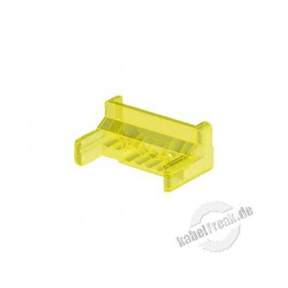 Hirose Guide Plate für Modularstecker TM31, VE: 1000 Stück Kämmchen zur Kabelführung im Modularstecker TM31