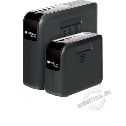 Riello IDG 600 iDialog Desktop USV, 600 VA / 360 Watt Stromversorgung mit Line-Interactive-Technologie für kleine Büros und Privatanwendungen