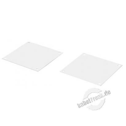 Rittal Abdeckplatten für nicht benötigte Lüftungsöffnungen für Wandgehäuse, VE: 6 Stück Zum Belüften der Wandgehäuse