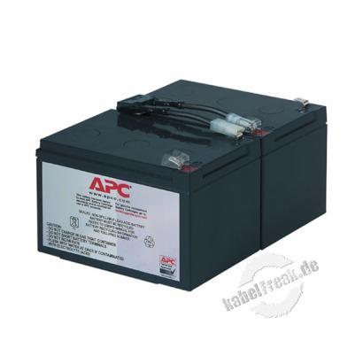 APC Replacement Battery Cartridge #6 / Ersatzbatterie (RBC6) Wartungsfreie, versiegelte Bleibatterie mit suspendiertem Elektrolyt, auslaufsicher