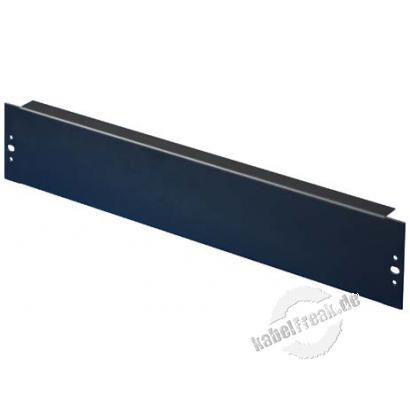 Rittal 7152.005, 19' Blindplatte, 2 HE, Stahlblech, schwarz RAL 9005, VE: 2 Zur Abdeckung der freien Räume zwischen den 19' Profilen
