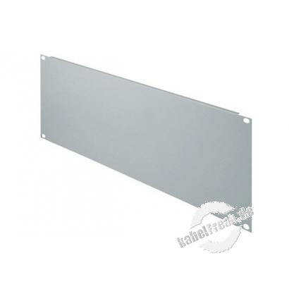 Triton 19' Blindplatte, 4 HE, Stahlblech, hellgrau RAL 7035 Zur Abdeckung der freien Räume zwischen den 19' Profilen
