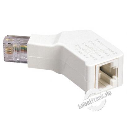 MetzConnect ISDN Abschlußwiderstand RJ45 St/Bu