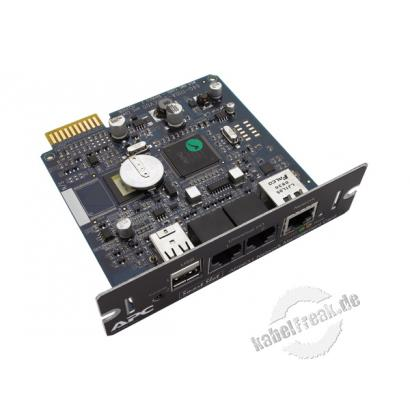 APC SmartSlot Karte Network Management Card 2 Management-Karte mit externem Temperatursensor