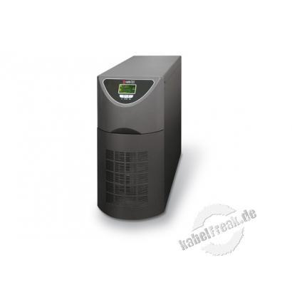 Riello SPW 6000-9 Sentinel Power USV, 6000 VA / 4800 Watt, Standgerät, Eingang: einphasig / Ausgang: einphasig Online USV-Anlage (Typ VFI-SS-111 nach IEC 62040-3) mit automatischem und manuellem Bypass, LCD Anzeige, USB und RS232 Schnittstelle