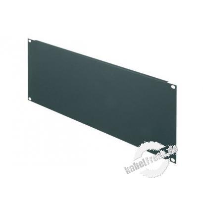 Triton 19' Blindplatte, 4 HE, Stahlblech, schwarz RAL 9005 Zur Abdeckung der freien Räume zwischen den 19' Profilen