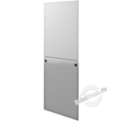 Rittal Seitenwand, geteilt, hellgrau RAL7035, VE = 1 Stück passend für HxT 2000x600 mm der TS IT Rack Baureihe