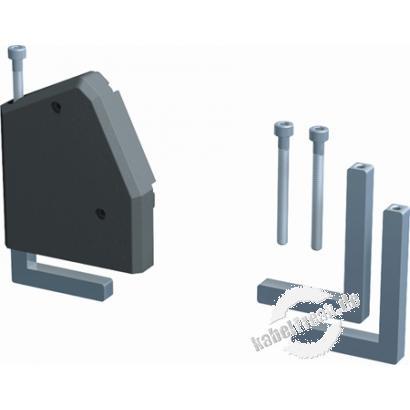 Bachmann DESK 1 Facility System, Haltewinkel für Tischplatten bis 50 mm Haltewinkel zum Bachmann DESK 1 System