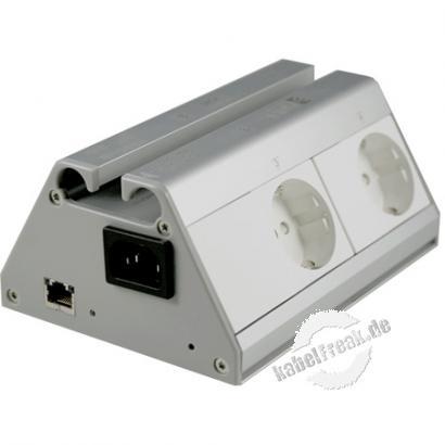 Anel IP-/Internet-gesteuerte Steckdosenleiste NET-PwrCtrl HOME, 4-fach Bis zu 3 Geräte können über das Internet ein- und ausgeschaltet werden