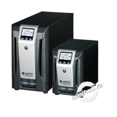 Riello SEP 2200-6 Sentinel Pro Tower-Serie USV, 2200 VA / 1980 Watt, LCD-Anzeige, Online USV Stromversorgung mit  ONLINE Doppelumwandlungstechnologie ohne Umschaltzeit, für kleine bis mittlere Computernetze, Local Area Networks (LAN), Workstations, Server