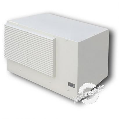 Triton Dach-Klimagerät 4,1 kW, hellgrau RAL 7035, mit Drehzahlsteuerung, ETE41LN2207000R Zur Montage auf den Netzwerkschränken der Produktreihe RIE und RDE (mit Schutzgrad IP54)