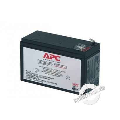 APC Replacement Battery Cartridge #2 / Ersatzbatterie (RBC2) Wartungsfreie, versiegelte Bleibatterie mit suspendiertem Elektrolyt, auslaufsicher