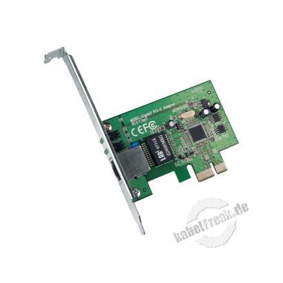 TP-Link Netzwerkkarte TG-3468, 1 Gigabit/s, PCI Express Zum Anschluss eines PCs an ein Gigabit Ethernet Netzwerk