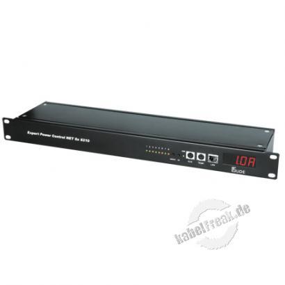 Gude Expert Power Control 8x 8210, 8-fach, 19', Stromanschlüsse rückseitig Der Remote Power Switch für TCP/IP-Netzwerke