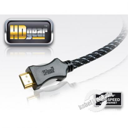 PureLink HD Gear HDMI High Speed Kabel, 4K, HDMI St. A/ HDMI St. A, 2,0 m Hochwertiges Anschlusskabel zur Übertragung von digitalen Monitor- und TV-Signalen