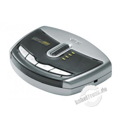 ATEN USB 2.0 Switch, 4 Port Mehrere PCs oder MACs teilen sich ein USB-Gerät