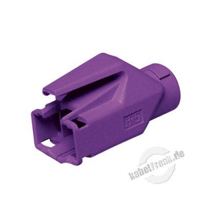 Hirose Knickschutztülle für Modularstecker TM21 und TM31, lila Verhindert Beschädigungen am Stecker
