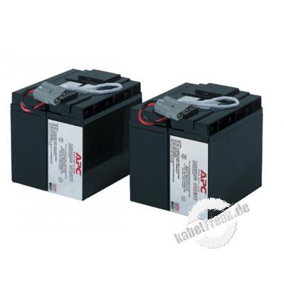 APC Replacement Battery Cartridge #11 / Ersatzbatterie (RBC11) Wartungsfreie, versiegelte Bleibatterie mit suspendiertem Elektrolyt, auslaufsicher