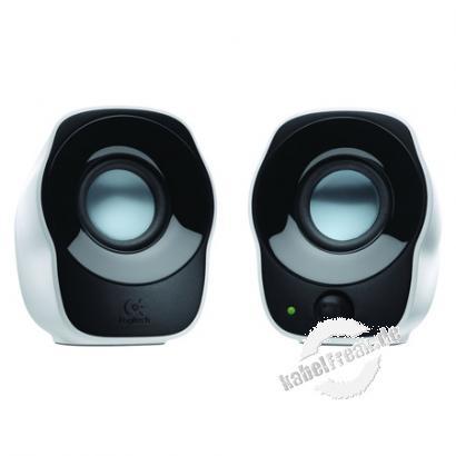 Logitech Lautsprecher-System Z120, 1,2 Watt (effektiv), schwarz Genießen Sie Ihre Lieblingsmusik, Videos und vieles mehr völlig unkompliziert