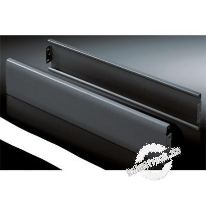 Rittal Blenden für Sockel 'Flex-Block', geschlossen, 100 mm hoch, 800 mm lang, schwarz RAL 9005 VE = 2 Stück Modular aufgebauter Sockel für TE7000 Schränke