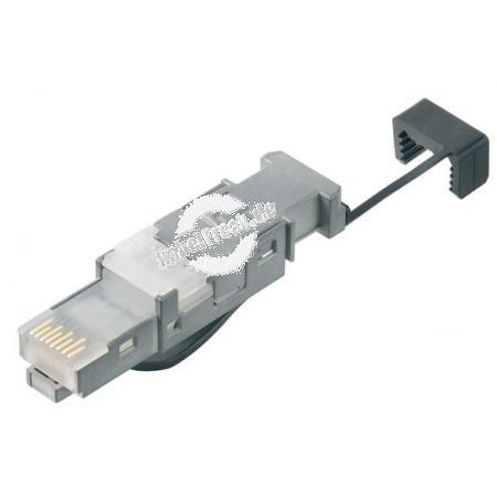 MetzConnect E-DAT Industry RJ45 Stecker Stecker für Patch- und Installationskabel, ohne Spezialwerkzeug montierbar