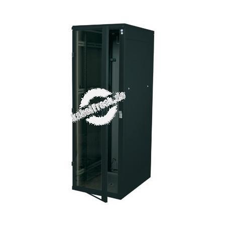 Triton 19' Netzwerkschrank RZA, 45 HE, 600 x 900 mm, schwarz RAL 9005 Netzwerkschrank mit 4 Holmen, komplett zerlegbar