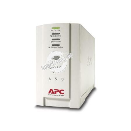 APC USV Back UPS CS, 650 VA / 400 Watt Stromversorgung mit Offline-Technologie für professionelle Anwendungen