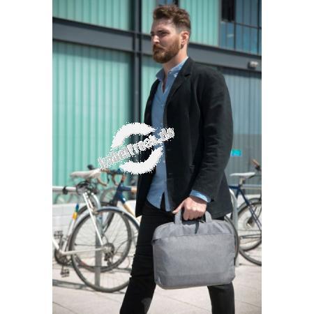 Bakker Elkhuizen Notebooktasche CityLite Slipcase 15,6' grau Die Tasche verfügt über ein großes Fach für den Laptop und einige Unterlagen. Im großen   Außenfach lassen sich Schlüsselbund, Handy und Laptop-Zubehör verstauen.