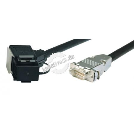 Token Ring PC Adapterkabel, Token Ring Datenst./9pol D-Sub St., 1,0 m