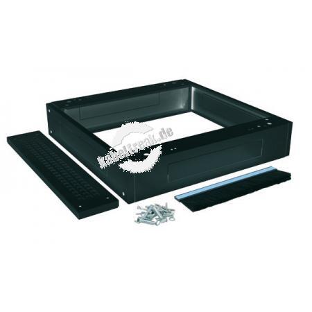 Triton Sockel für Netzwerkschränke 800 x 900 mm, schwarz RAL 9005