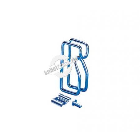 Rittal Kabelrangierbügel, Metall, 85 x 43 mm, VE: 10 Zur sauberen Führung der Kabel im Schrank
