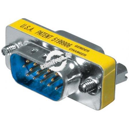 Mini Gender Changer, 15pol HD D-Sub St./Bu. für VGA