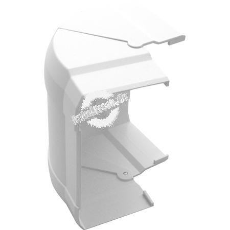 Hager Außeneck für Brüstungskanal tehalit.BRN reinweiß RAL 9010, G12129010