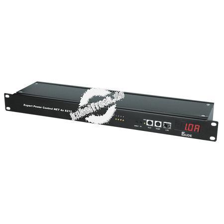 Gude Expert Power Control 4x 8212, 4-fach, 19', Stromanschlüsse rückseitig Der Remote Power Switch für TCP/IP-Netzwerke