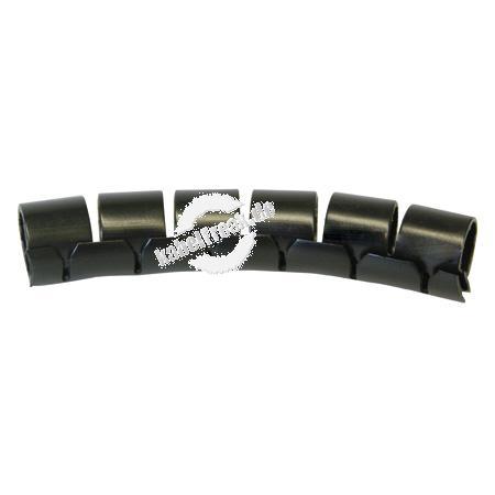 Spiral-Kabelschlauch FIXIT-EASY, max. Bündeldurchmesser 29 mm, Schwarz, 10 m Rolle zum Schutz und Bündeln von Kabel- / Leitungsträgern ohneFlexibilitätsverlust