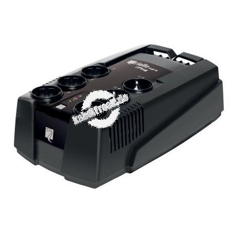 Riello IPG 800 iPlug Desktop USV, 800 VA / 480 Watt Stromversorgung mit Line-Interactive-Technologie für kleine Büros und private Anwendungen