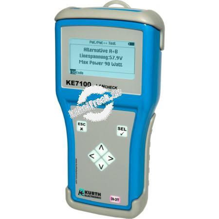 Kurth LAN Tester KE7100 LAN Tester für Installation und Fehlersuche in Netzwerken