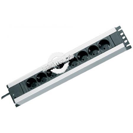 Rittal Steckdosenleiste, 8-fach Zur Stromversorgung von bis zu 8 Geräten