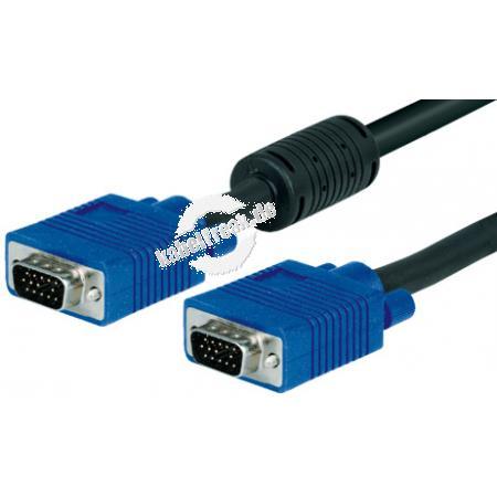 S-VGA Monitorkabel, 15pol HD D-Sub St./St., 20,0 m