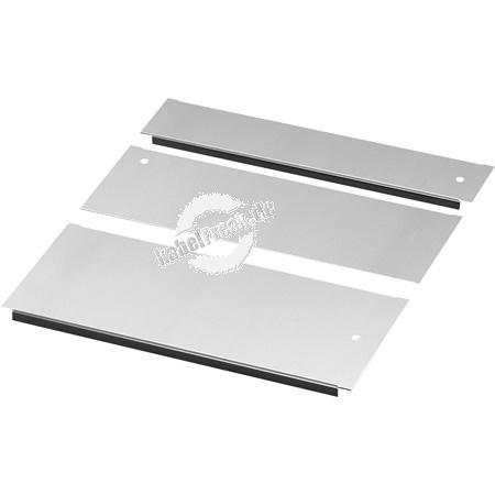 Rittal Bodenblech-Set für TS IT Racks mit 600mm Schranktiefe und 800mm Schrankbreite mehrteiliges Bodenblech-Set mit Schiebeblech zum Abdecken der kompletten Bodenöffnung