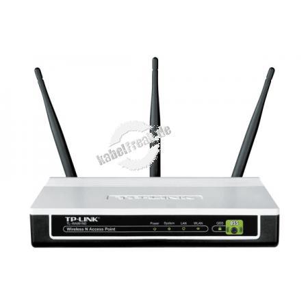 TP-Link Wireless Access Point, 450 Mbit/s (2,4 GHz), 2T2R, 3 Antennen, PoE Ideal für bandbreitenintensive Multimediaanwendungen wie HD Streaming